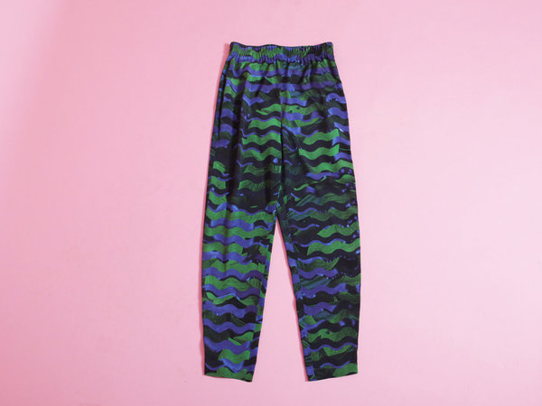 Richards Slim Pant - Dark Wave