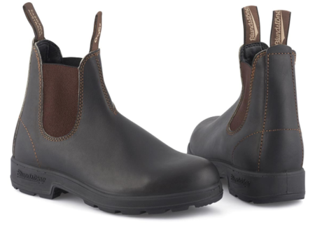 Blundstone 500 Elastic Sided Boots - Stout Brown