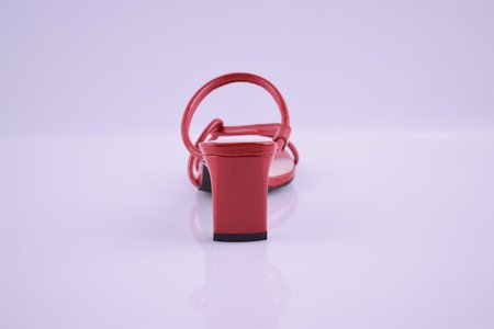 """""""INTENTIONALLY __________."""" Willow Sandals - Cherry Red"""