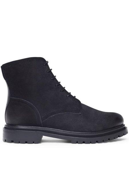 Hudson Lingshaw Nubuk Boot - Black