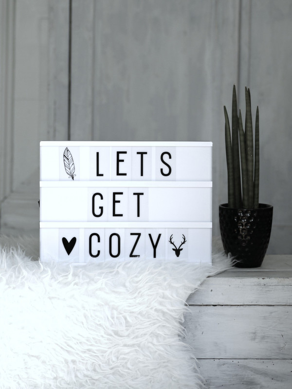 A Lovely Little Company BIG LIGHTBOX - WHITE