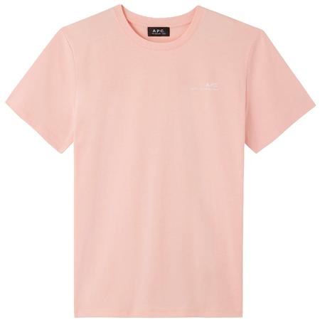 A.P.C. Item T-Shirt - Light Pink