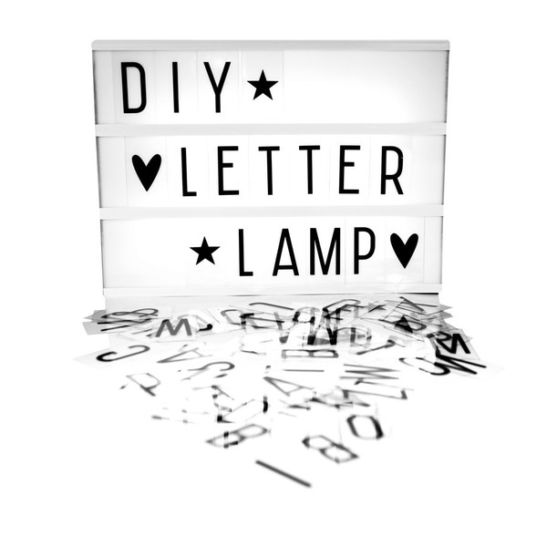 A Lovely Little Company EXTRA LARGE LIGHTBOX - BLACK