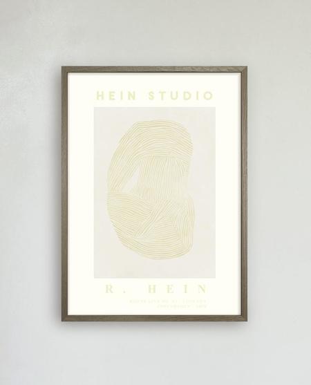 Hein Studio Round Line No. 9 Art Print