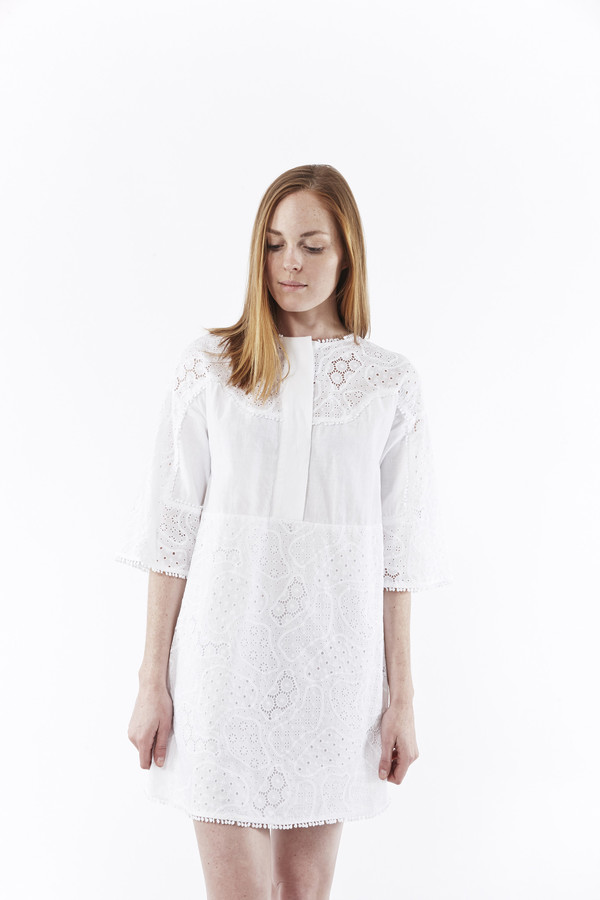 M.i.h. Jeans Amo Dress in White