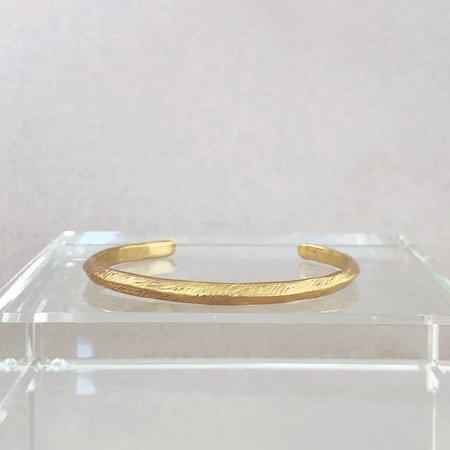 Mercurial NYC Ridge Cuff - 14k gold plate over brass
