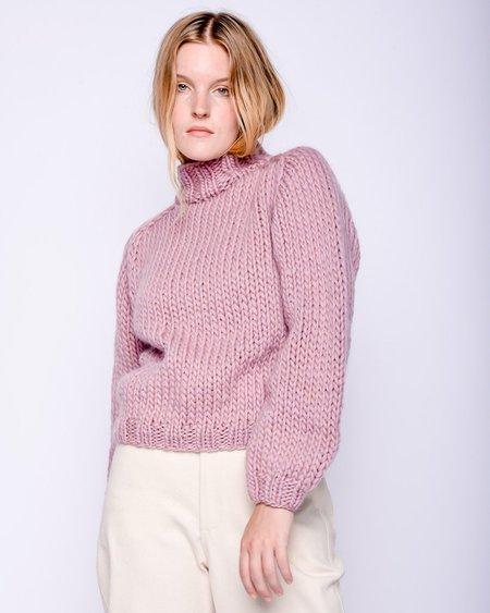 Maiami Merino wool Sweater - mauve