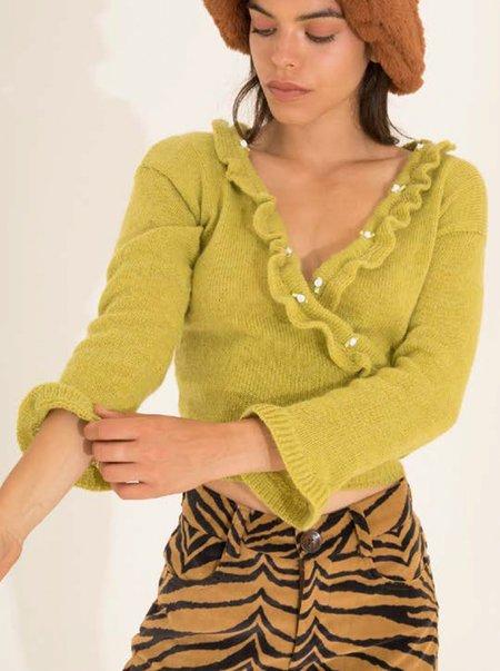 Tach Clothing Olivia Top - Pistachio