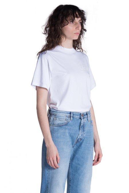 Aries Arise Basic Temple T-shirt - White