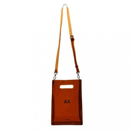 nana-nana A4 Bag - Brown