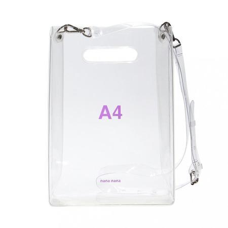 nana-nana A4 Bag - Clear