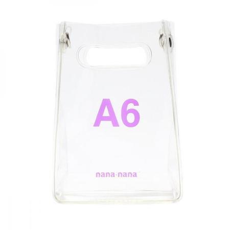 nana-nana A6 Bag - Clear