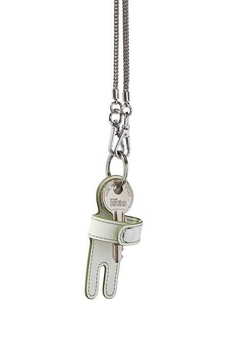 hanwen Cuddle Keychain - White