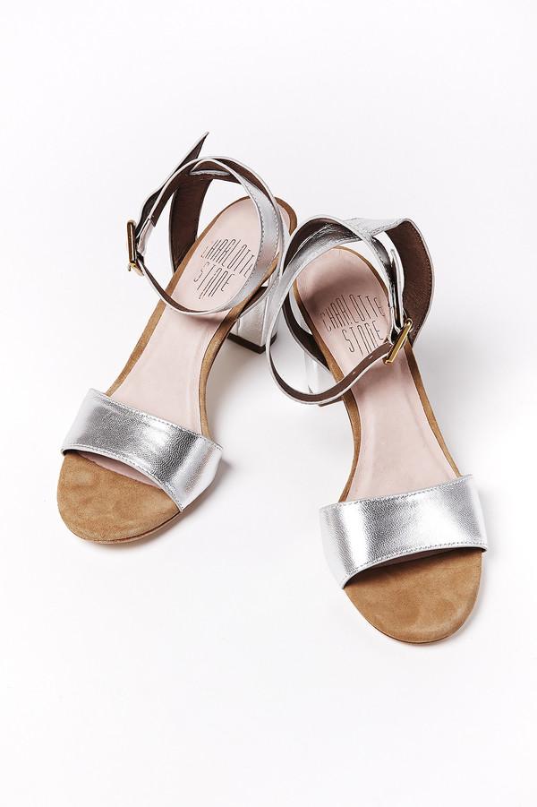 Charlotte Stone Samia Sandal in Silver