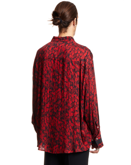 MAGLIANO Twisted Liquid shirt - RED