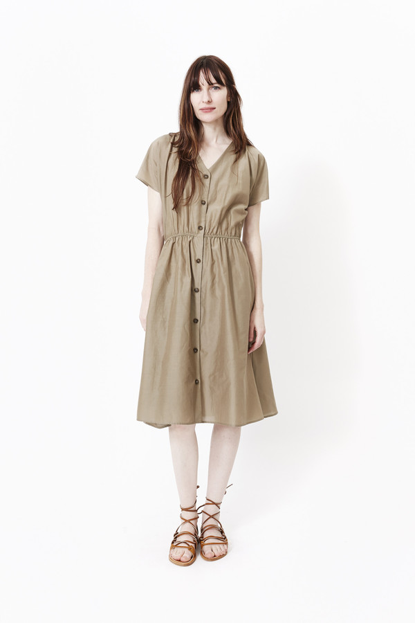 LA ROBE The Poppy Dress in Khaki