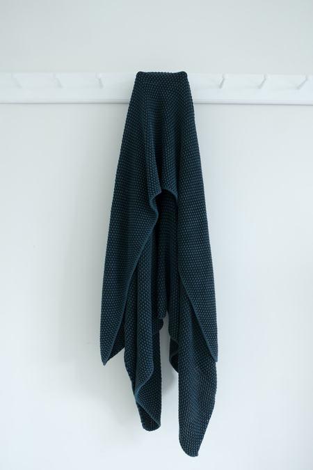 Karu Cotton Blanket - Blue