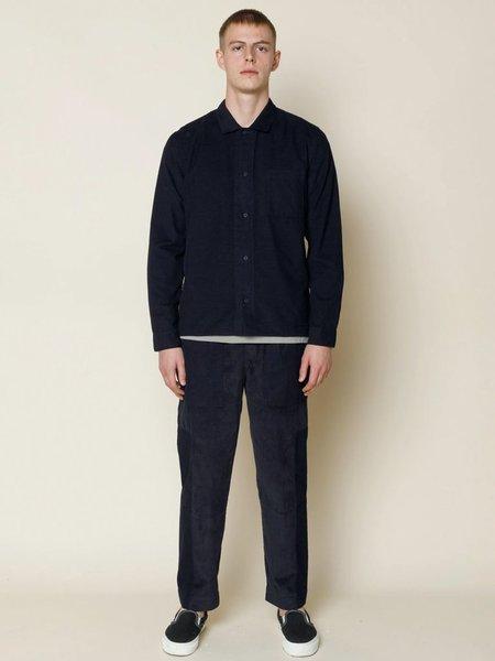 Folk Clothing Folk Embossed Shirt - Black