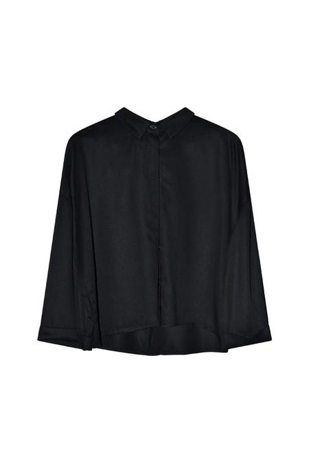I DIG DENIM Beek Oversized Shirt - black