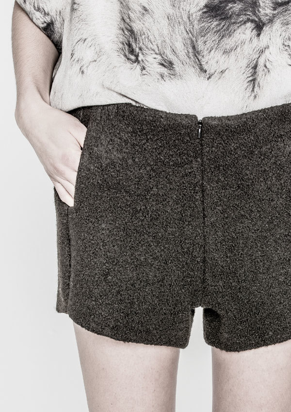 Berenik Shorts Lined Wool