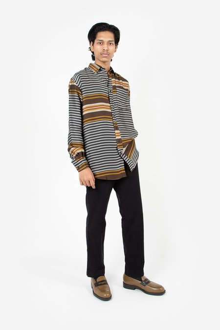 Schnayderman's Non Binary Liquid Stripe Shirt - Multi Colour