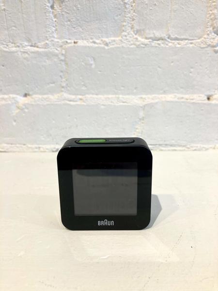 Braun Travel Alarm Clock Digital - Black