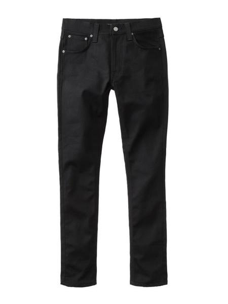 Nudie Jeans LEAN DEAN JEAN - DRY COLD BLACK