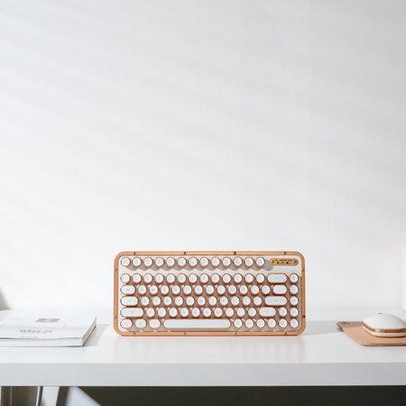 Poketo Azio Compact Keyboard - White