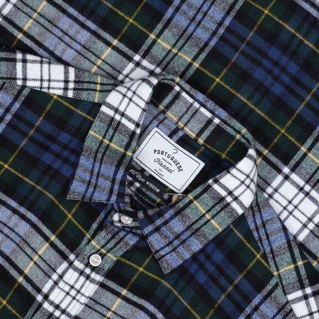Portuguese Flannel SACRAMENTO BUTTON UP - BLUE