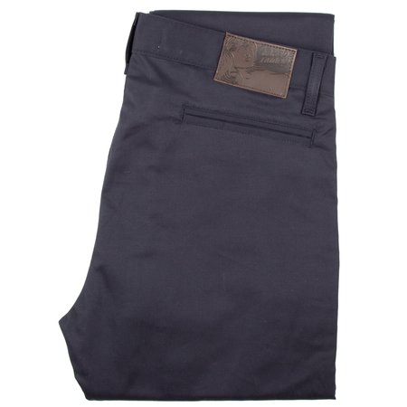 Naked & Famous SLIM CHINO - NAVY