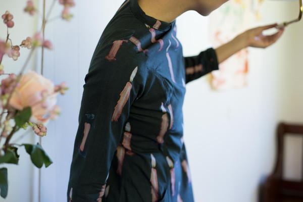 Samantha Pleet  Passion Dress Candle Print
