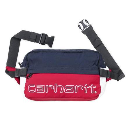 CARHARTT WIP TERRACE HIP BAG - RED / NAVY