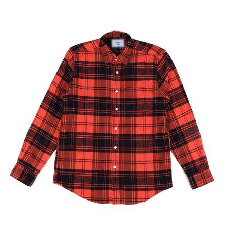 Portuguese Flannel VILA Jacket - Red