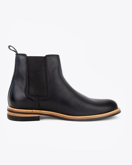 Nisolo Javier Chelsea Boot - Black
