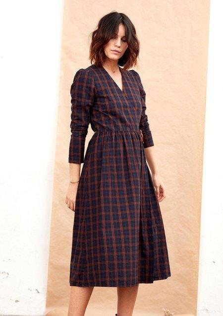 Tinsels Nymphe Waterford Dress - Marine