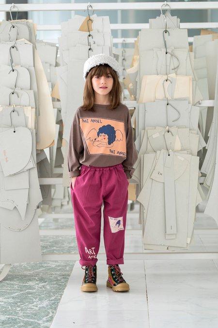 kids Fresh Dinosaurs Art Angel Pants