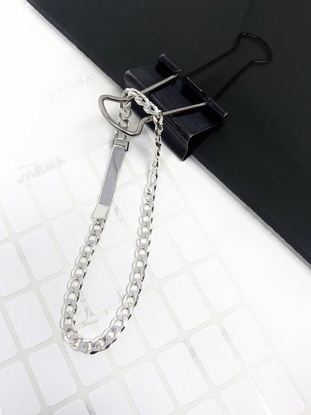 Saskia Diez Grand Identity Bracelet - Silver