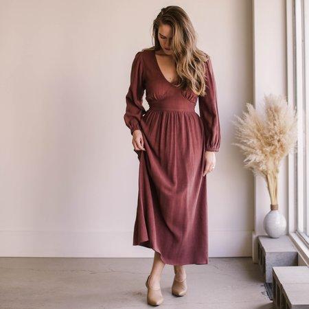 Rachel Pally Holland Dress - Brick
