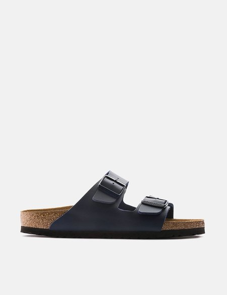 Birkenstock Regular Birko-Flor Arizona Sandals - Blue