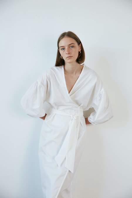 General Sleep Agnes Organic Cotton Wrap - Cloud