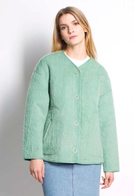 Six Crisp Days Wice Coat - Green