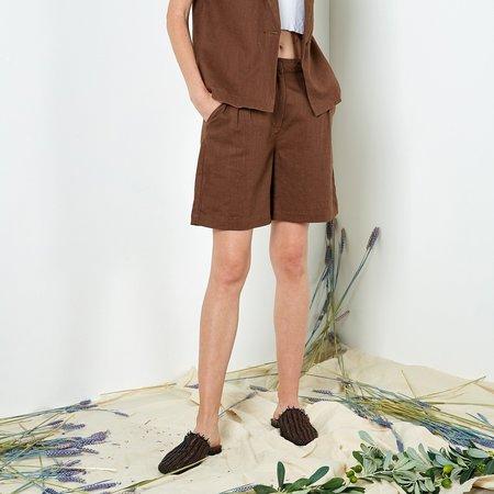 Six Crisp Days Zalten Shorts - Brown