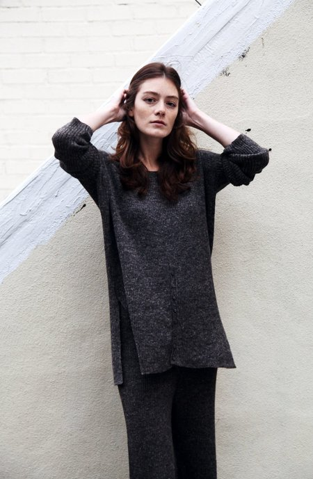 Kordal Evelyn Sweater Dark Grey