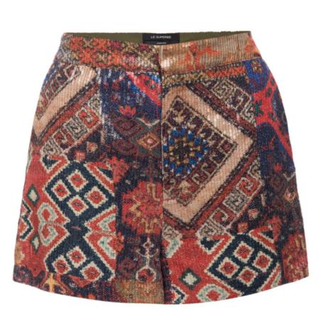 Le Superbe Short - Tapestry Patchwork