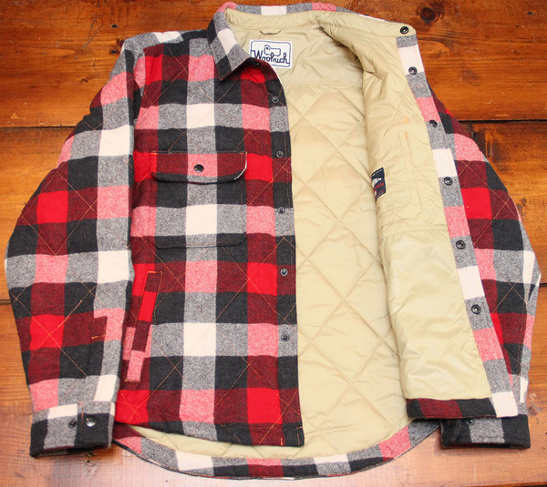 Men's Woolrich - Quilted Mill Shirt Jacket