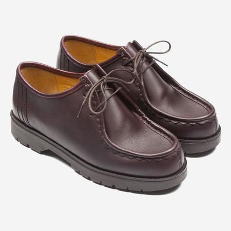 Kleman Padror Leather Tyrolean Shoes - Bordeaux