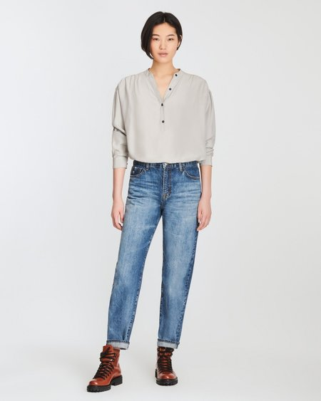 J Brand Tate Boy Fit Jeans - Dialouge