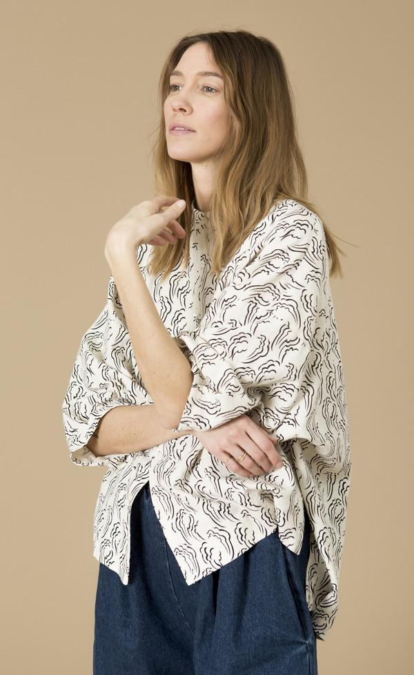 Ilana Kohn Marion Shirt, Clouds