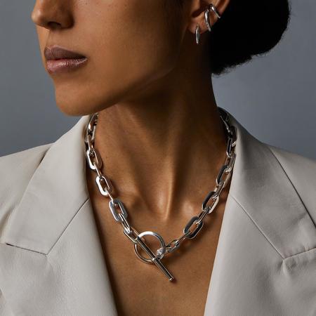 Jenny Bird Toni Necklace - Silver