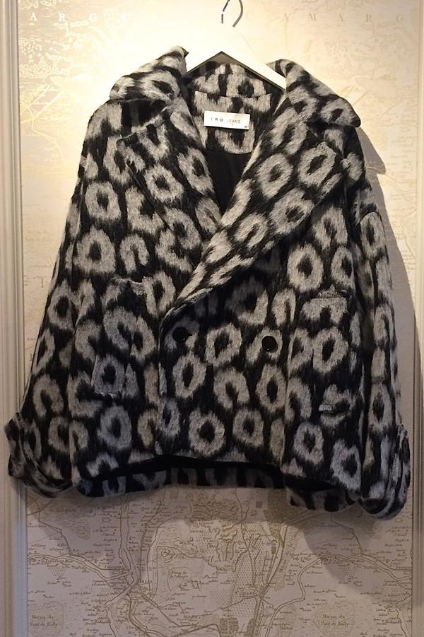 IRO Leopard Print 'Keesy' Jacket